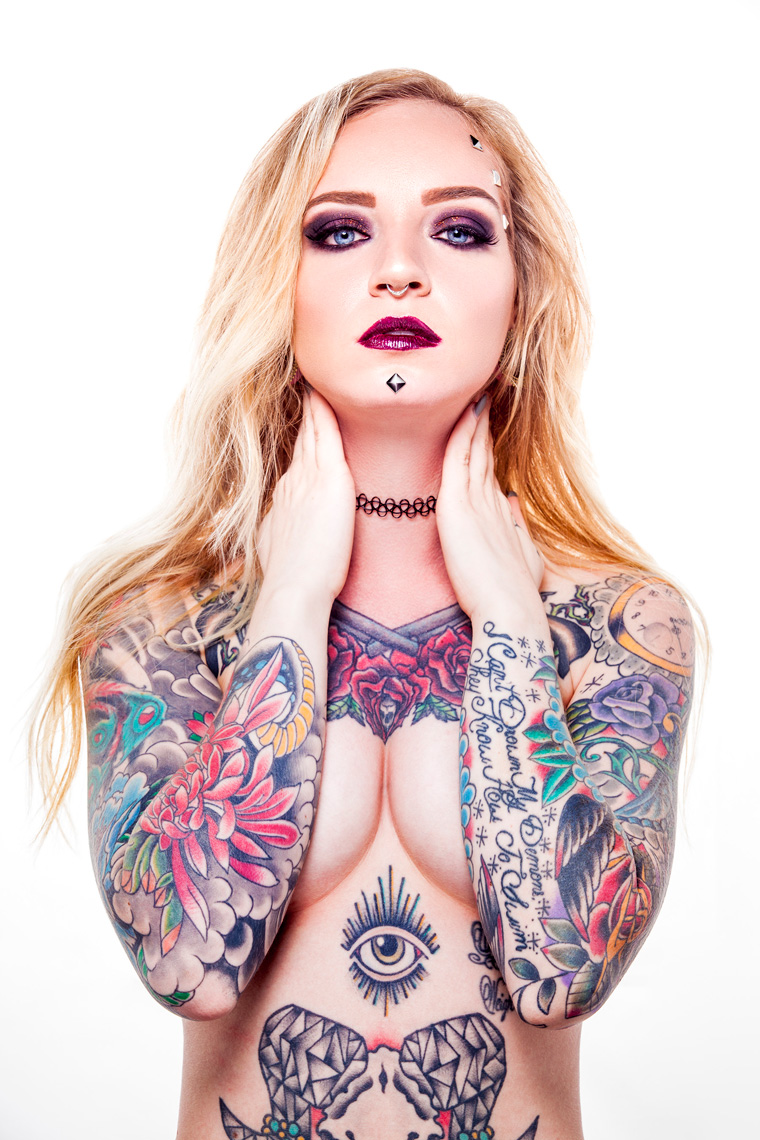 Alyssa-Jane, Tattoo Model, Ian Jacob Photography Beauty Photography, Studio Photography, Beauty Model, West Palm Beach, Fort Lauderdale, Miami, Florida