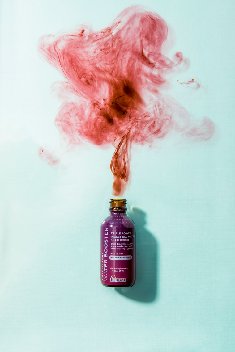 Dr. Brandt, Water Booster,DNA, Do Not Age, Dr. Brandt, Skincare, Skincare Photography, Product Photography, Makeup, Cosmetics, Makeup Photography, Cosmetic Photography, Creative Still, still life, product photography, product photo, studio photography, Ian Jacob, Ian Jacob Photography