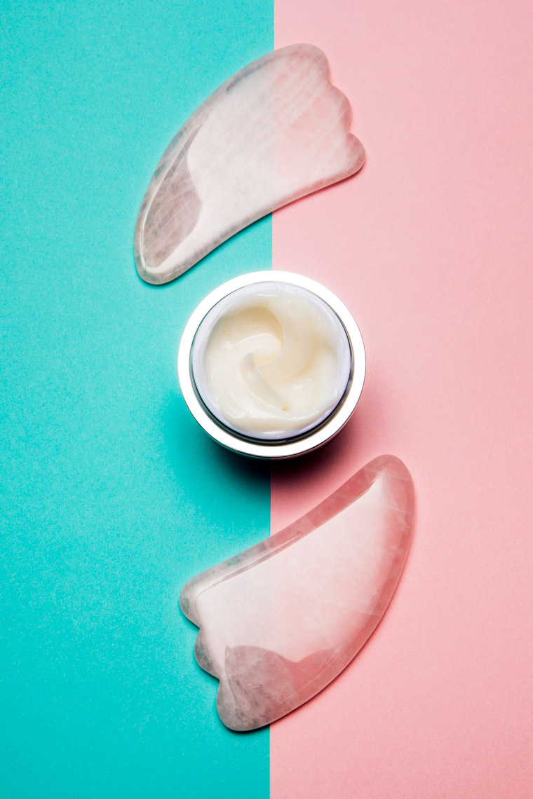 Dr. Brandt, Neck Sculpting Cream, Gua Sha, Skincare, Skincare Photography, Product Photography, Makeup, Cosmetics, Makeup Photography, Cosmetic Photography, Creative Still, Jewelry, fashion jewelry, jewelry photography, product photography, product photo, studio photography, Ian Jacob, Ian Jacob Photography
