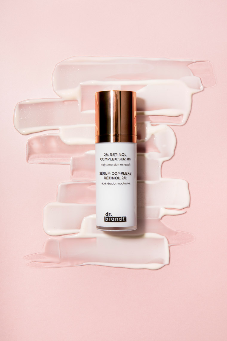 Dr.-Brandt, Retinol Serum, Eye Cream, Skincare, Skincare Photography, Product Photography, Makeup, Cosmetics, Makeup Photography, Cosmetic Photography, Creative Still, still life, product photography, product photo, studio photography, Ian Jacob, Ian Jacob Photography