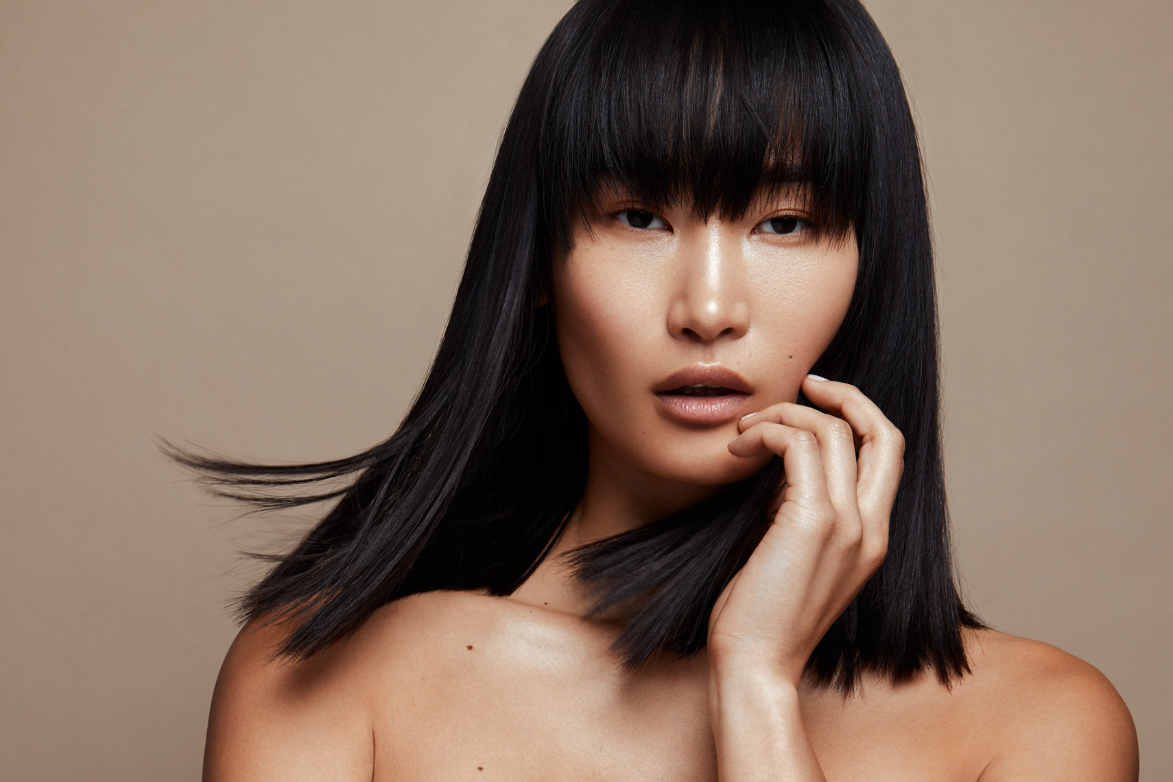 Miki Hamano, Beauty, Portrait, Fashion, Model, Studio Photography, Ian Jacob, Ian Jacob Photography